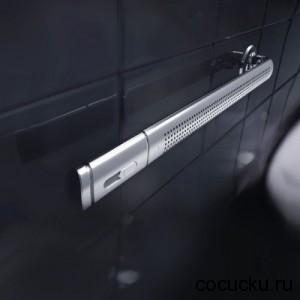 Breeze Rack - концептуальное устройство для ванной комнаты