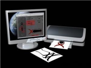 Dattoo концепт компьютера в виде татуировки