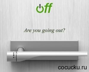 Off – концепт умной дверной ручки