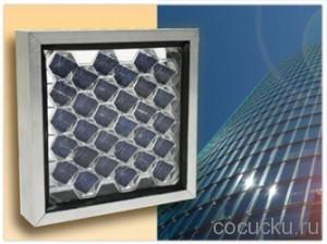 Декоративная панели BeeHive PV создают электричество