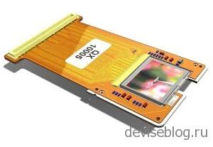 1 дюймовый дисплей с разрешением 2048 x 1536 от компании Fourth Dimension