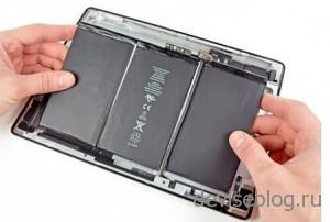 Аккумулятор планшетного компьютера iPad 3