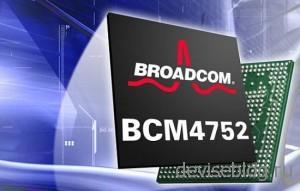 Новый GPS чип BCM4752 от компании Broadcom