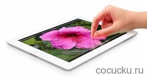 Подробнее о мониторе Retina, для планшета iPad3.
