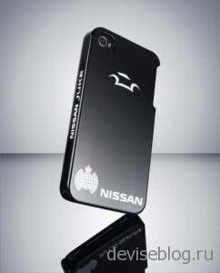 Корпус для iPhone от Nissan