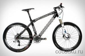 Уникальная велосипедная рама из углепластика