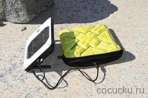 Универсальное зарядное устройство Solar Joos Orange
