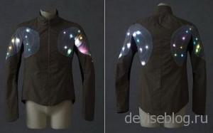 Sporty Supaheroe - куртка со светодиодами