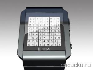 Необычные часы для любителей игры Судоку