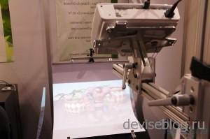 Изогнутая панель - больше глубина 3D проекции