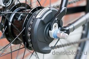 Alfine Di2 - велосипед с автоматической системой переключения передач