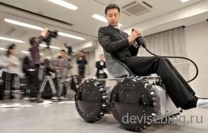 Personal Mobile Vehicle - колесо способное ездить боком