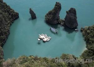 Archipelago Cinema - плавающий кинотеатр