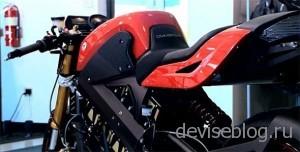 Brammo Empulse - мотоцикл на электрической тяге