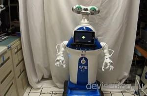 Робот KATE 1.0 от Дэна Матхиаса