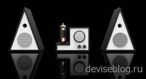 Ламповая усилитель для iPhone