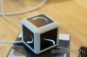 Кубик состоящий из 6  OLED экранов