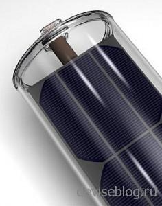 Солнечные батареи solar tube с сервоприводом