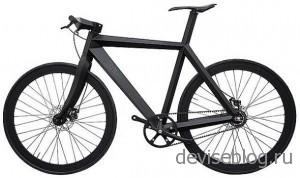 Велосипедная рама X-9 Nighthawk весом 1,5 кг