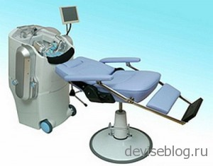 Робот для мытья головы от Panasonic