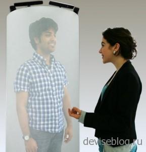 Telepod - трехмерная проекция вашего собеседника