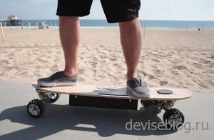 Zboard - скейтборд на электрической тяге