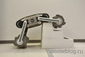 NASA разрабатывает робота-экскаватора RASSOR
