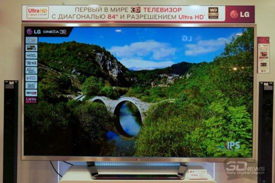 Телевизор LG 84LM960V с разрешением 3840 x 2160