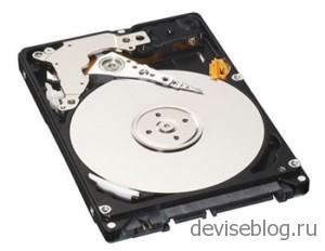 Автомобильный жесткий диск от Toshiba на 200 Гб