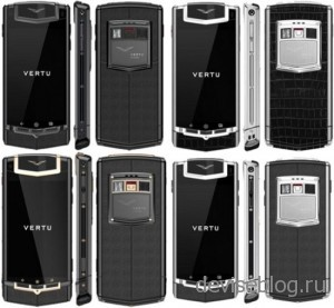 Vertu представили свой новый смартфон Constellation Ti