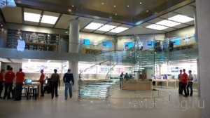 Apple патентует интерьер и экстерьер своих магазинов