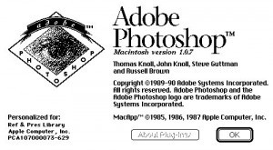 Исходный код Photoshop 1.0