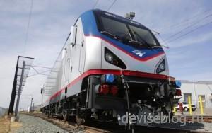 Сверхскоростной поезд на биодизельном топливе