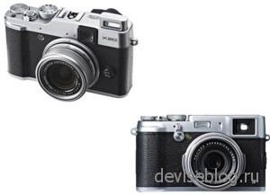 Ретро фотоаппараты X20 и X100s от Fujifilm