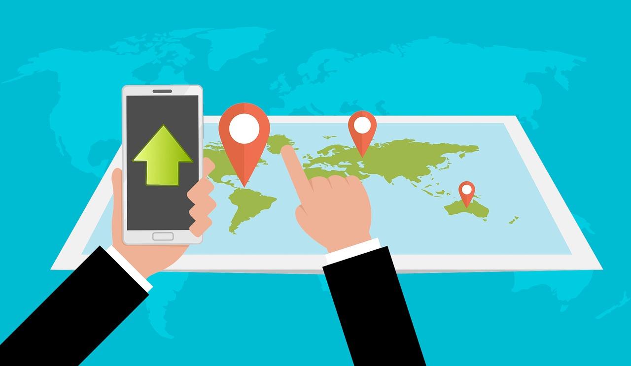 поиск смартфона на карте гугл
