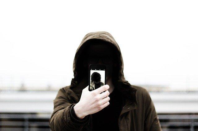 селфи хакера