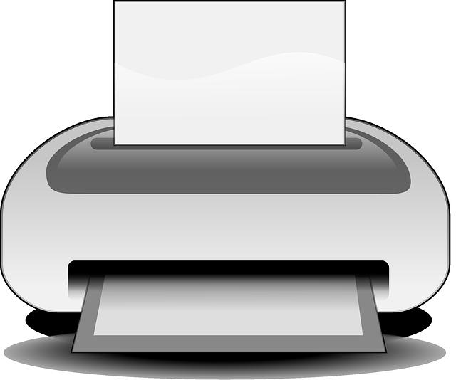 вывод на принтер